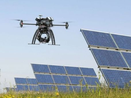 Drones in Solar Power Industry big
