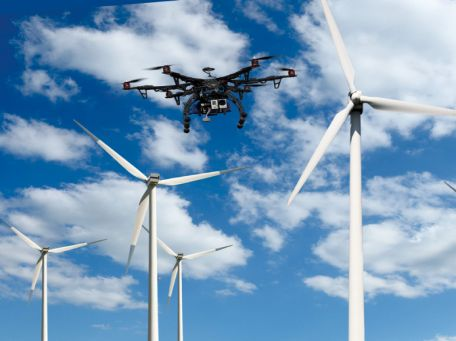 Drones in Wind Power Industry big