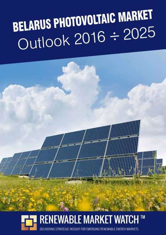 Belarus Photovoltaic (Solar PV) Market Outlook 2016 - 2025