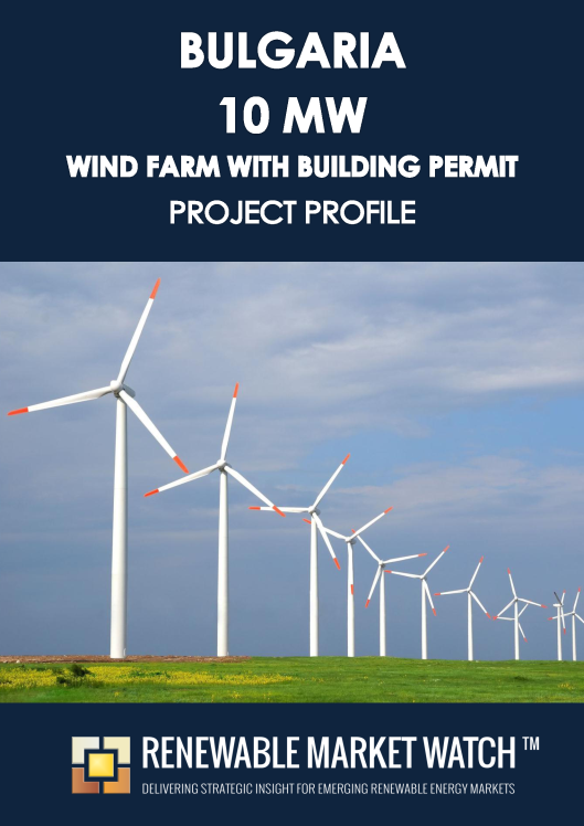 Bulgaria 10 MW Wind Farm Building Permit - Project Profile