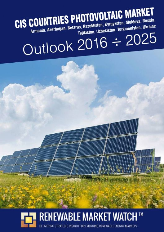 CIS Countries Photovoltaic (Solar PV) Market Outlook 2016 - 2025.jpg