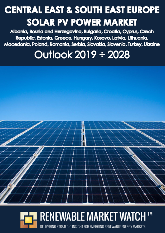 Central East and South East Europe Solar Photovoltaic (PV) Power Market Outlook 2019 - 2028