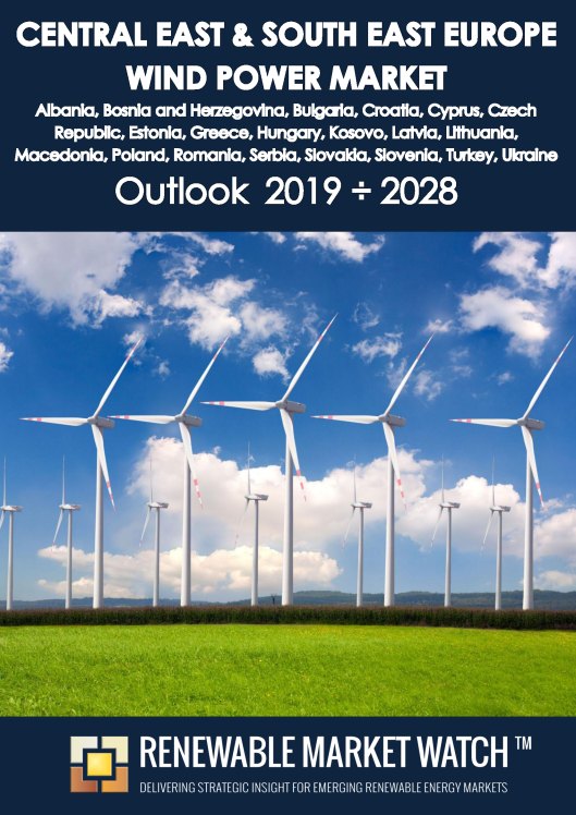 Central East and South East Europe Wind Power Market Outlook 2019 - 2028