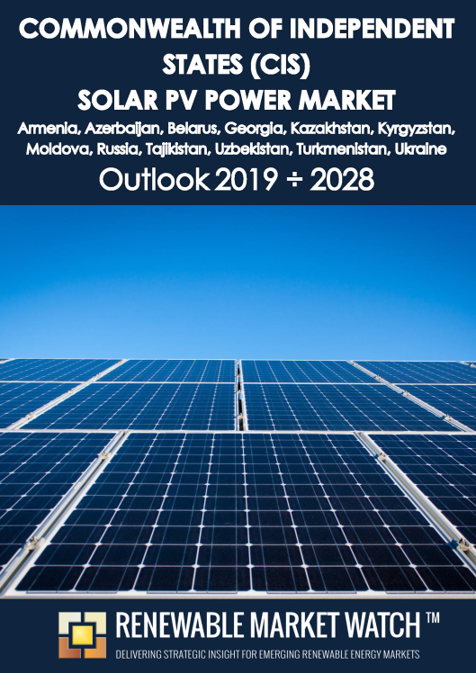 Commonwealth of Independent States (CIS) Solar Photovoltaic (PV) Power Market Outlook 2019 - 2028