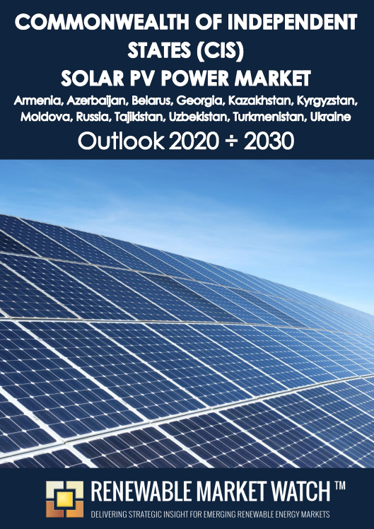 Commonwealth of Independent States (CIS) Solar Photovoltaic (PV) Power Market Outlook 2020 - 2030