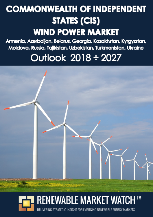 Commonwealth of Independent States (CIS) Wind Power Market Outlook 2018 - 2027