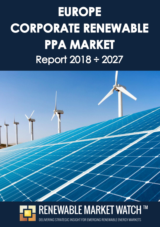 Europe Corporate Renewable PPA Market Report 2018 - 2027