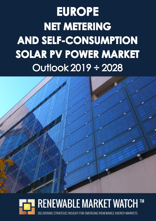 Europe Net Metering and Self-Consumption Solar PV Market Outlook 2019 - 2028