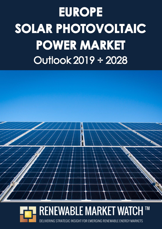 Europe Solar Photovoltaic (PV) Power Market Outlook 2019 - 2028