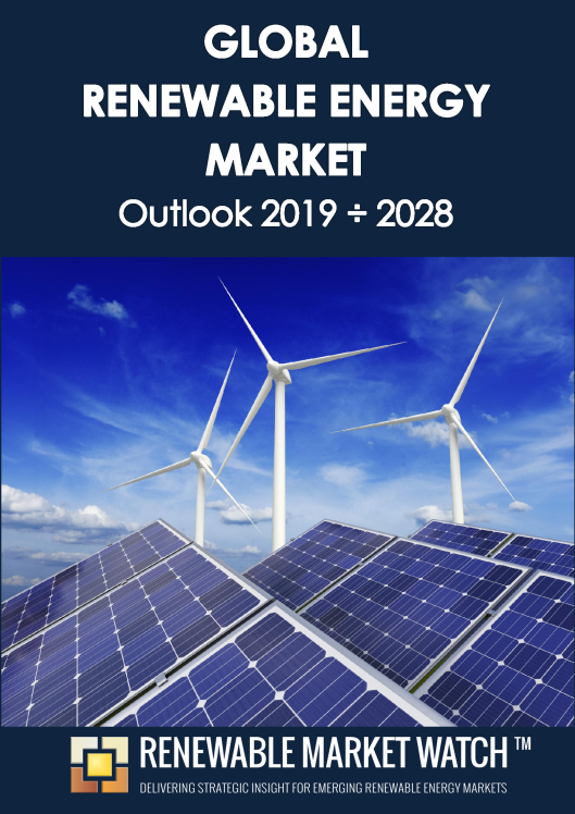 Global Renewable Energy Market Outlook 2019 - 2028 - Industry Insights, Trends, Opportunities, Investments and Forecasts.