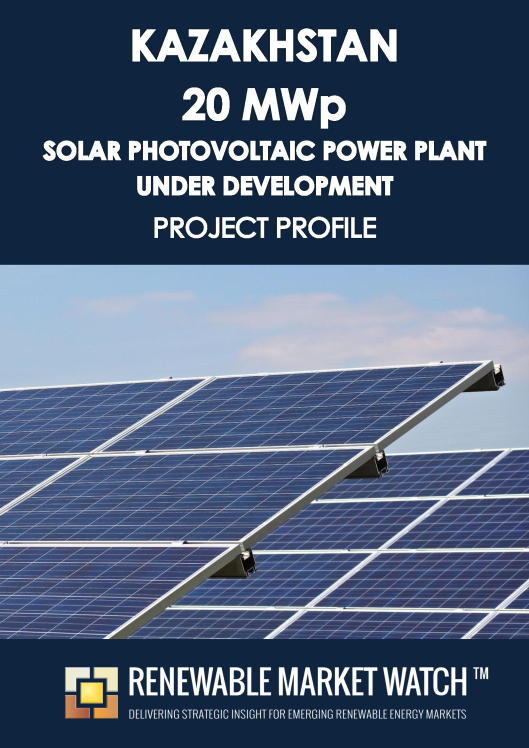 Kazakhstan 20 MWp Solar Photovoltaic (PV) Power Plant with Building Permit- Project Profile - Single User
