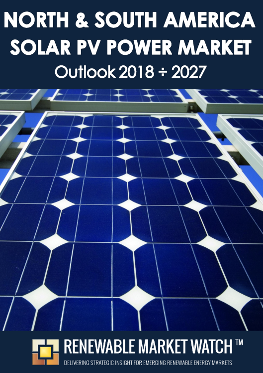 North and South America Solar Photovoltaic (PV) Power Market Outlook 2018 - 2027