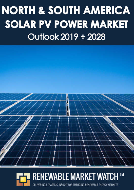 North and South America Solar Photovoltaic (PV) Power Market Outlook 2019 - 2028