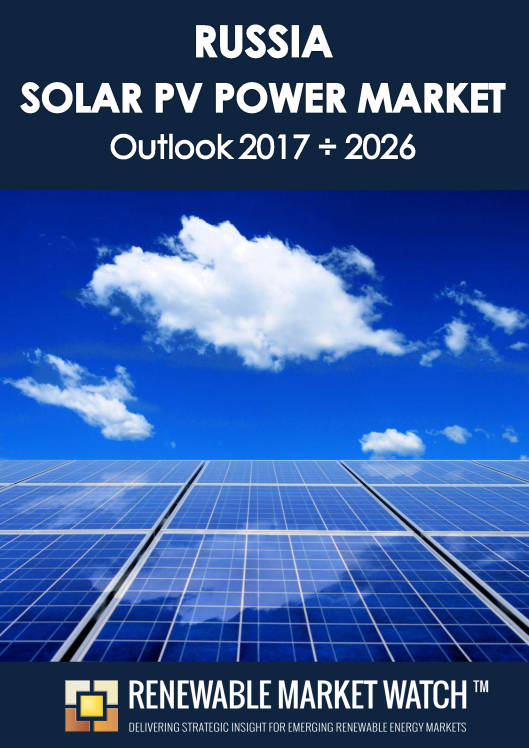 Russia Solar Photovoltaic (PV) Power Market Outlook 2017 - 2026