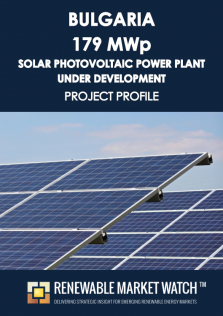 Bulgaria 179 MWp Solar Photovoltaic (PV) Power Plant  under Development - Project Profile - Single User