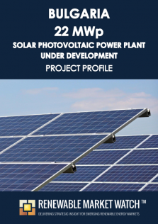 Bulgaria 22 MWp Solar Photovoltaic (PV) Power Plant  under Development - Project Profile - Single User