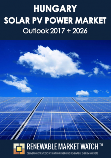 Hungary Solar Photovoltaic (PV) Power Market Outlook 2017 - 2026
