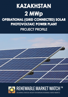 Kazakhstan 2 MWp Operational (Grid Connected) Solar Photovoltaic (PV) Power Plant - Project Profile - Single User