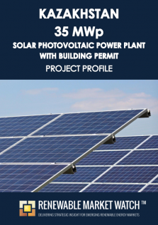 Kazakhstan 35 MW Solar Photovoltaic (PV) Power Plant Building Permit - Project Profile