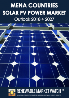 MENA Solar Photovoltaic (PV) Power Market Outlook 2018 - 2027
