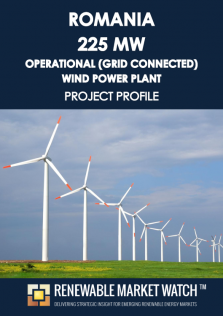 Romania 225 MW Operational (Grid Connected) Wind Power Plant - Project Profile - Single User